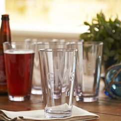 Thompson Pint Glasses (Set of 6)