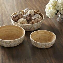 Capiz Bowls (Set of 3)