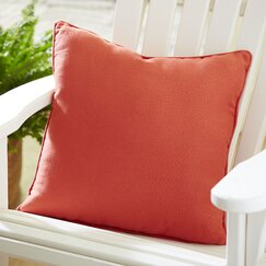 Mara Indoor/Outdoor Solid Pillow, Terra