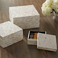 Caspian Storage Boxes (Set of 3)