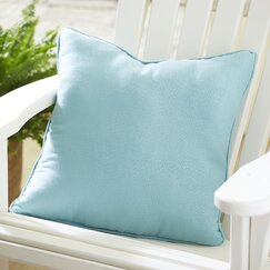 Mara Indoor/Outdoor Solid Pillow, Pool