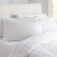 Alexa Duvet, Blue & White