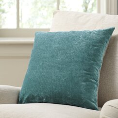 Rochelle Pillow Cover, Teal