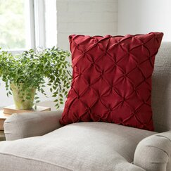 Alda Pillow Cover, Red