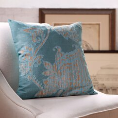 Penelope Cotton Pillow Cover, Teal