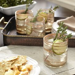 Catron Old-Fashioned Lowball Glasses (Set of 4)