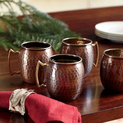 Russet Mule Mugs (Set of 4)