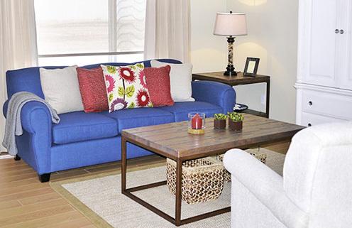 Space-Saving Living Room