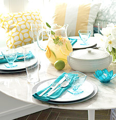 A Serving of Chic: Kitchen & Dining