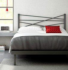 Downtown Digs: Industrial-Chic Bedroom