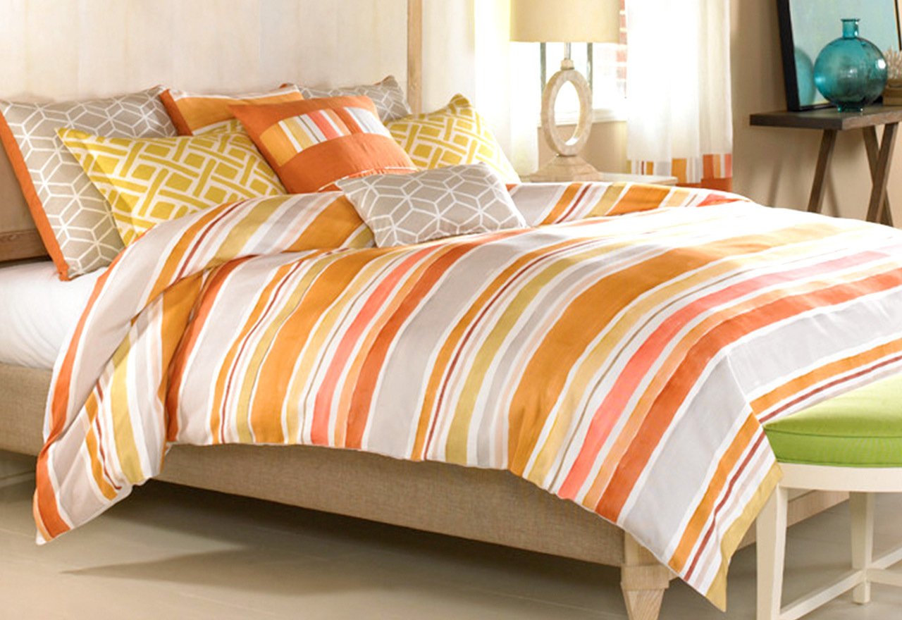 Suite Shades: Bedding by Color