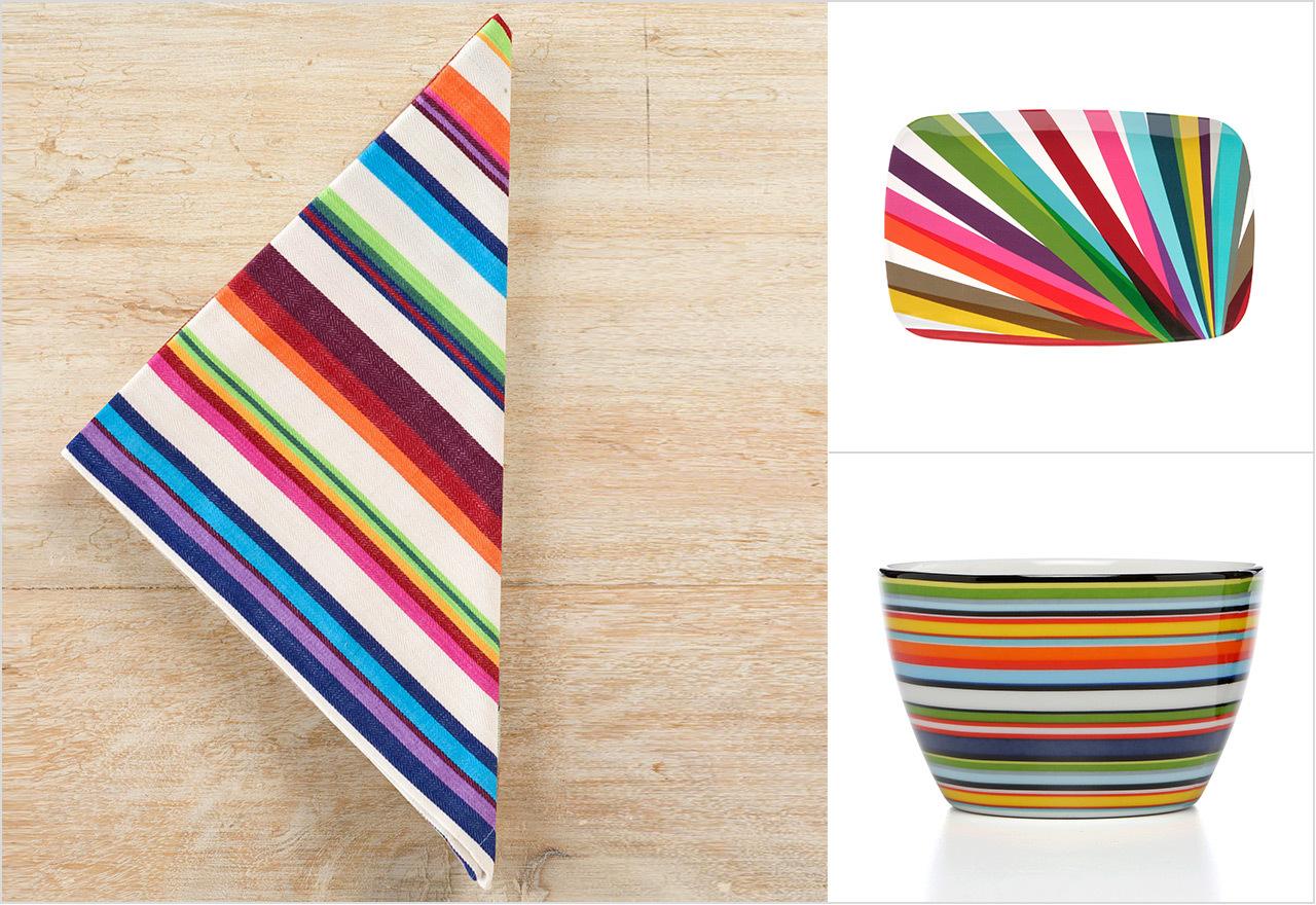 Vibrant Tableware