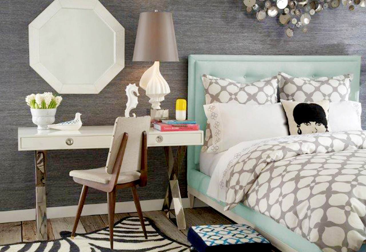 Bright Bedroom: Jonathan Adler