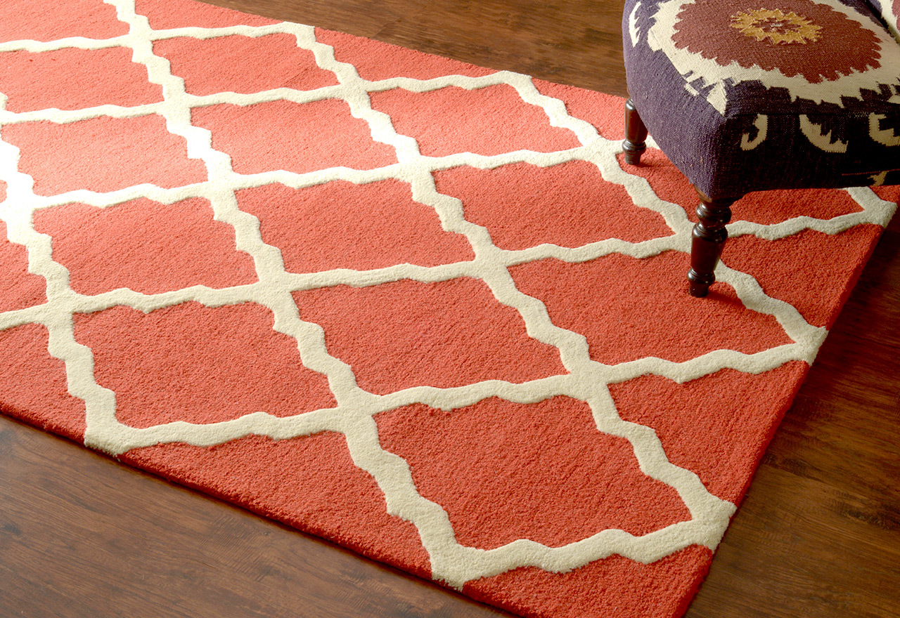 Totally Trellis: Rugs