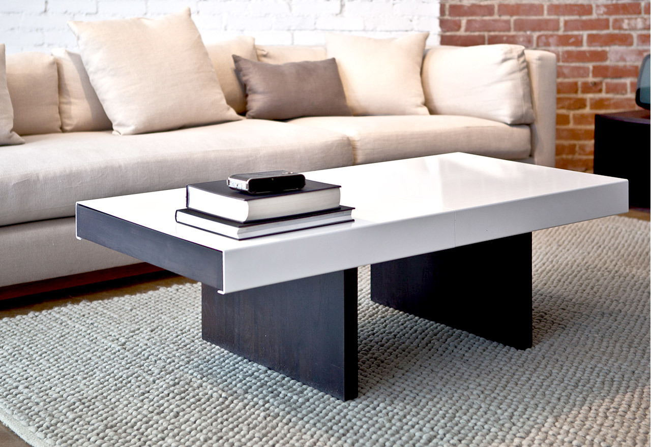 Mixed Materials: Living Room Tables