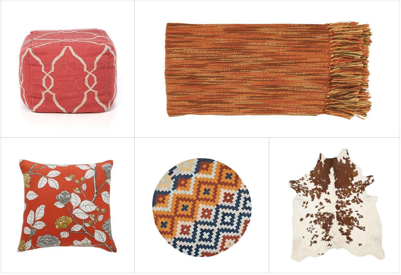 Autumn Interiors: Fall Textiles