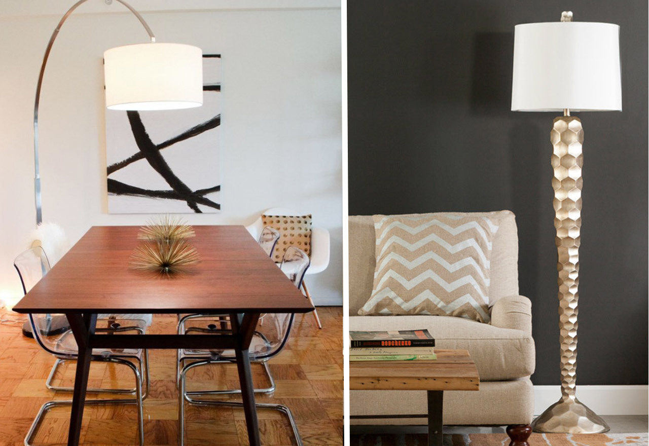 Take A Stand: Floor Lamps