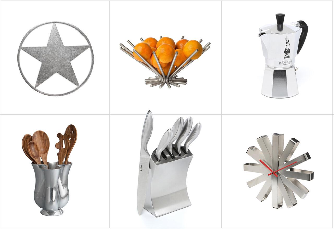 Steel Serveware + Cooking