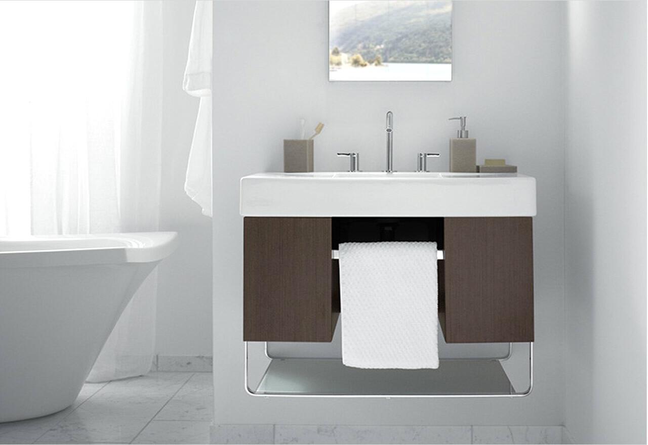 Sleek + Chic Bathroom