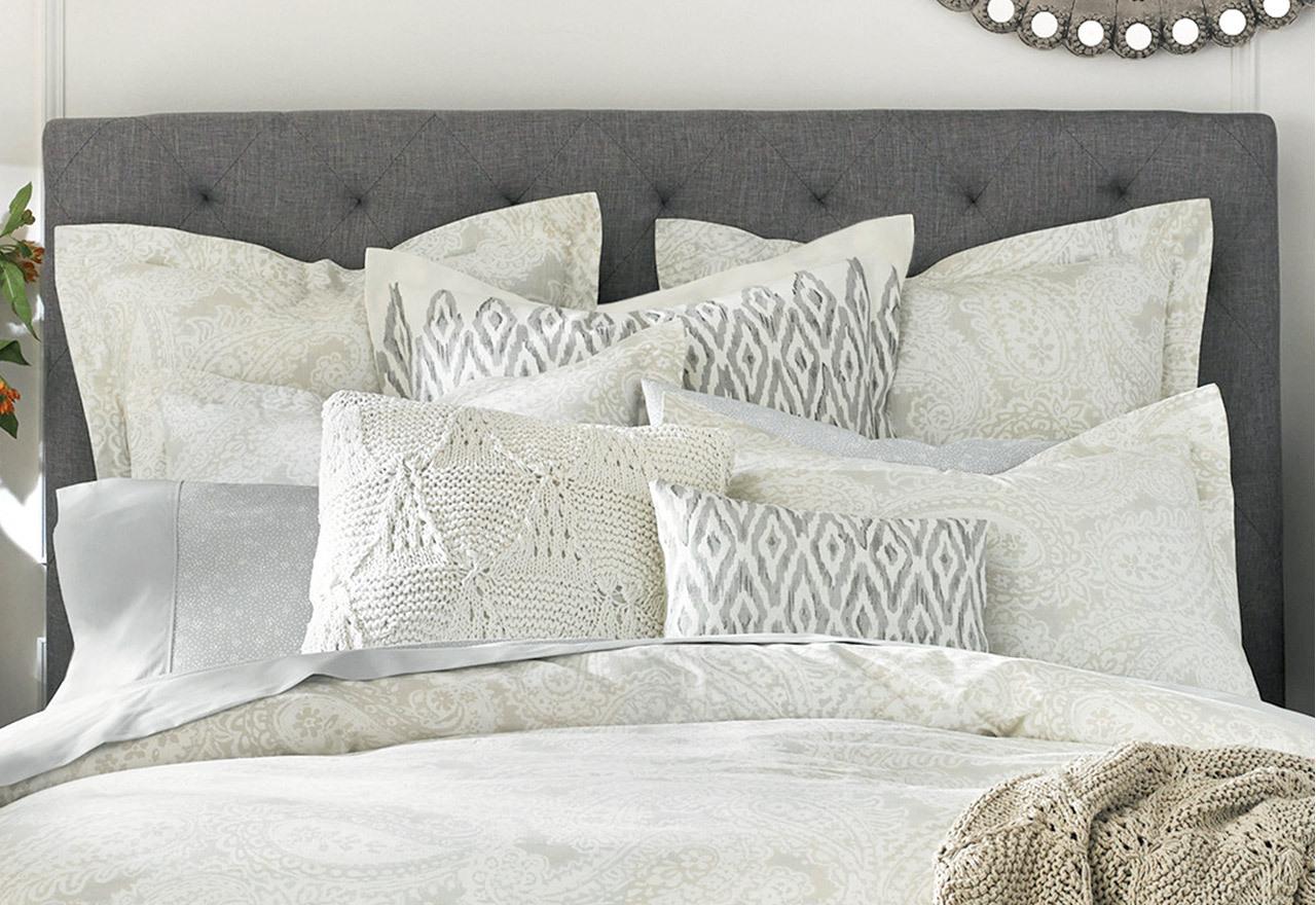 The White Sale: Pillows & Poufs