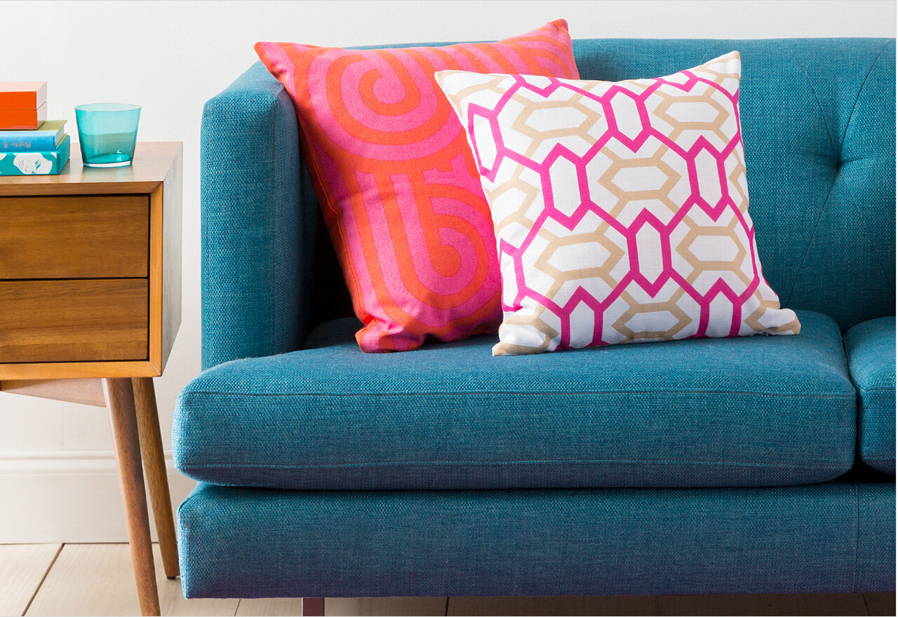 Throw Pillows to Mix & Match