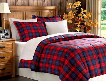 Festive Flannels, Pillows & More