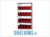 Breakroom Shelving Units