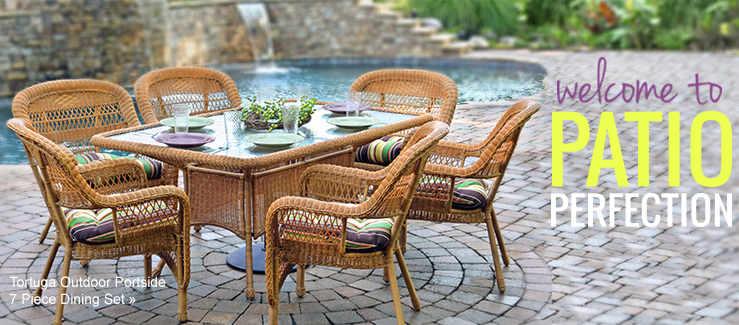 Patio furniture outdoor dining and seating wayfair for Outdoor furniture wayfair