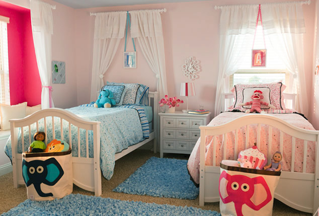 the ellen dream house shared girl room designed and