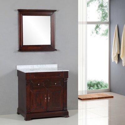 "Transitional 31"" Single Standard Bathroom Vanity Set with ..."