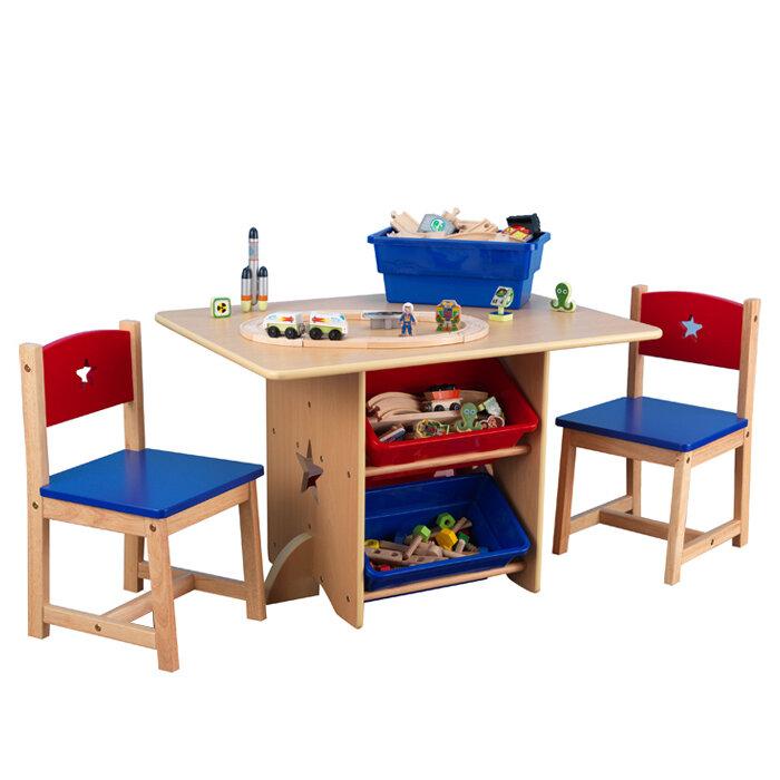 KidKraft Star Kid's 5 Piece Table & Chair Set